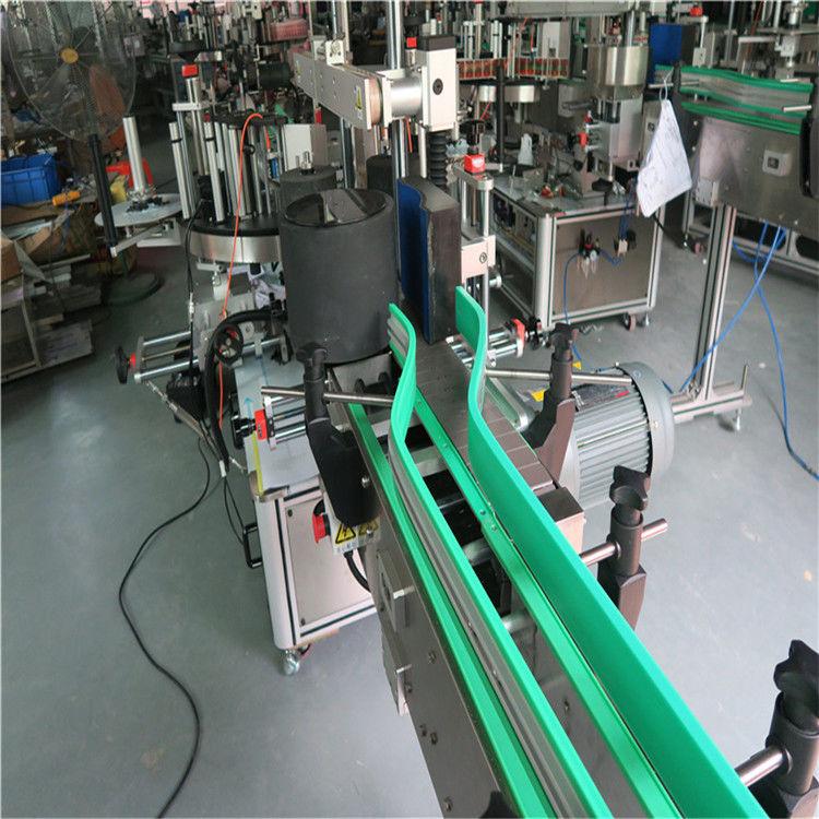 Dvostranski etiketni stroj za nalepke z dvema avtomatskima nalepkama 6000-8000 B / H