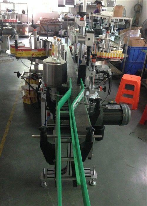 Nalepka za nalepke CE, stroj za etiketiranje steklenic, servo motorji, vožnja