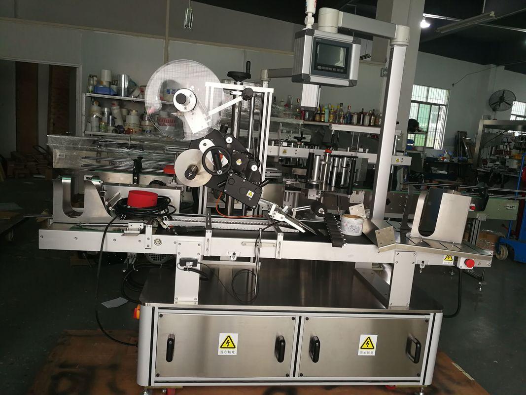 Stroj za etiketiranje zgornjih klicev za plastično vrečko / nerazprostrt karton / masko