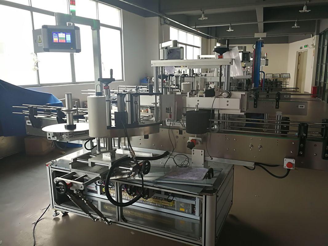 Stroj za etiketiranje ravnih steklenic, stroj za samodejno nanašanje etiket