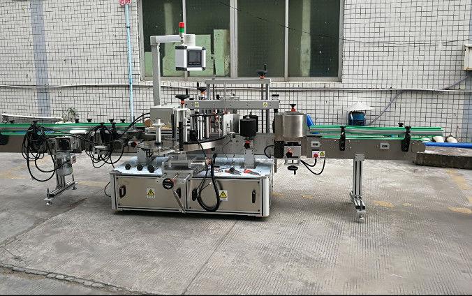 Dvostranski avtomatski stroj za etiketiranje nalepk s servo motorjem