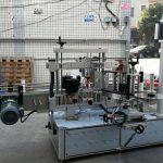 Samolepilni cilindrični / ovalni stroj za etiketiranje steklenic z PLC zaslonom na dotik