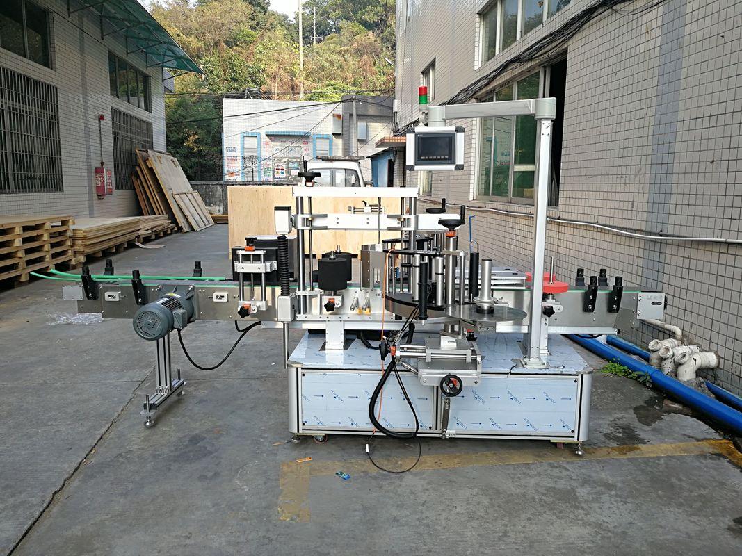 Stroj za etiketiranje z avtomatskimi nalepkami, integriran spredaj in zadaj