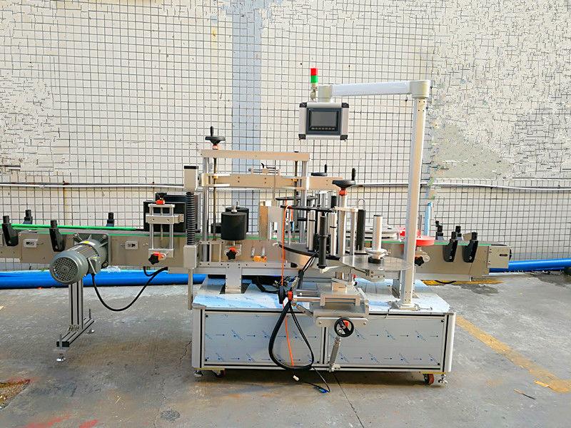 Preprost avtomatski stroj za etiketiranje spredaj in zadaj z dvostransko