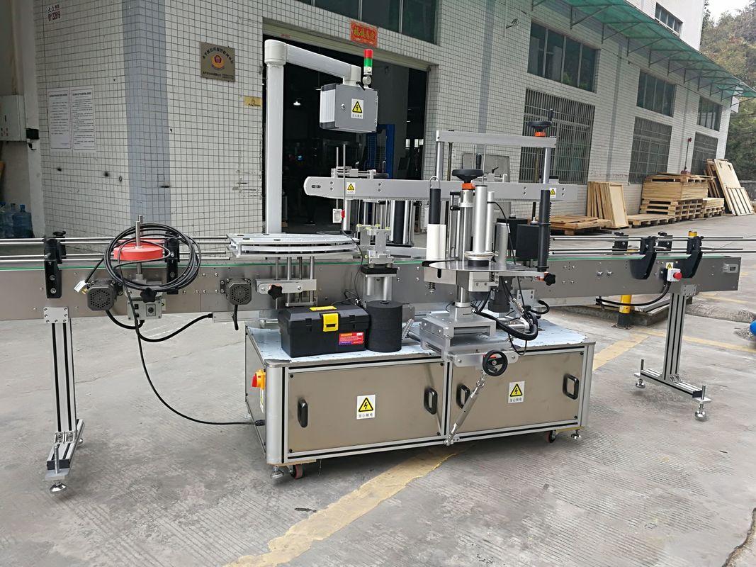 Popolnoma avtomatski stroj za etiketiranje nalepk na vogalni embalaži 220V 50HZ 1200W