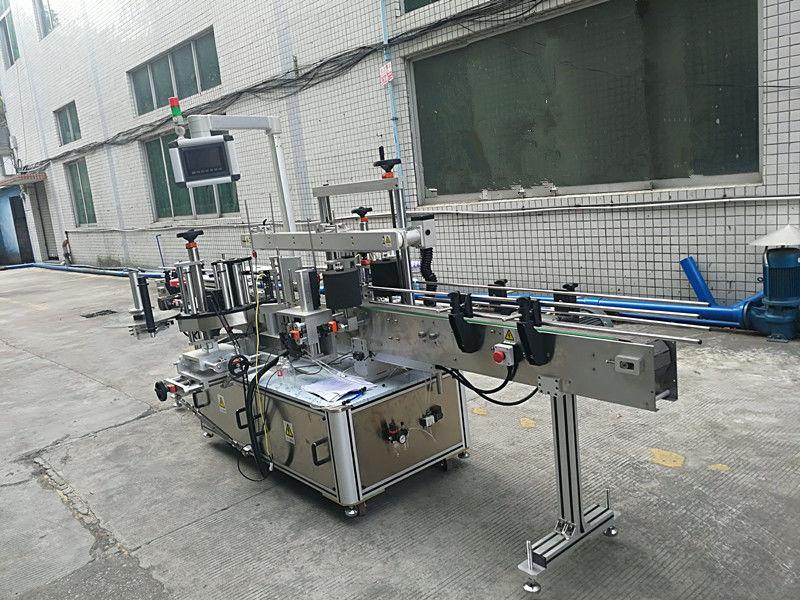 Dvostranski etiketni stroj za etiketiranje samolepilnih nalepk, popolnoma samodejen